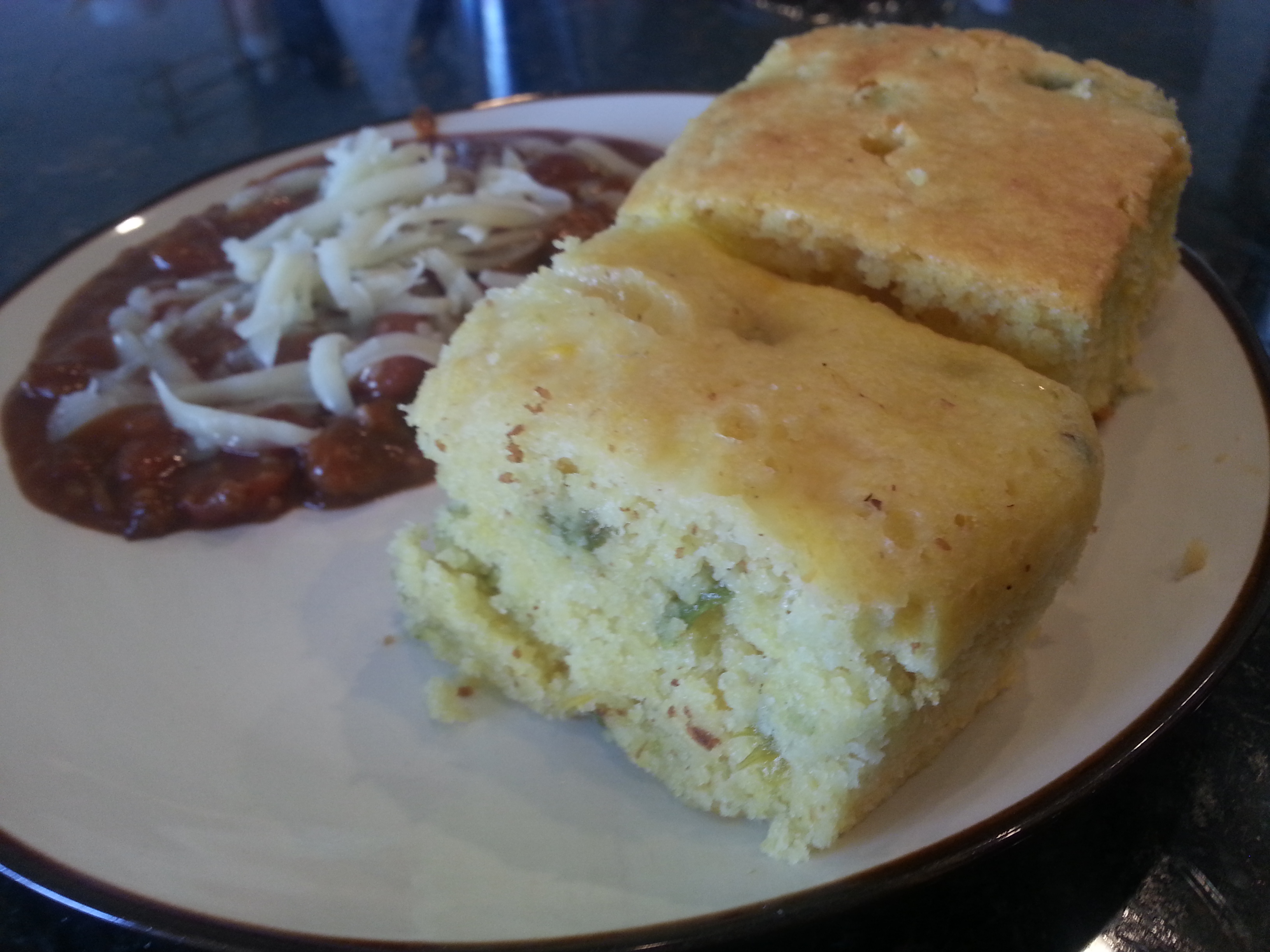 Ninja cooking system recipes - Extremely Moist Green Chili Cornbread